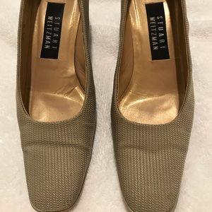 Stuart Weitzman champagne color heels